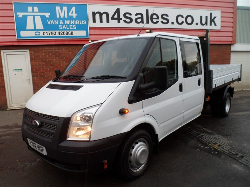 used Ford Transit 350 DRW CREWCAB 1 STOP TIPPER 125PS in wiltshire
