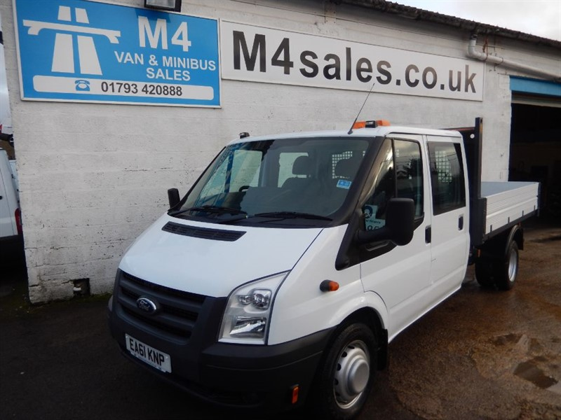 used Ford Transit 350 D/CAB, 1 STOP TIPPER, 100PS, 6SP in wiltshire