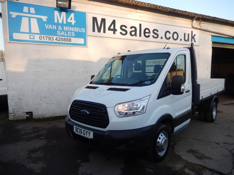 used Ford Transit TIPPER RWD 1 STOP BODY 350 2.2 in wiltshire