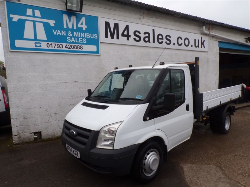 used Ford Transit 350 MWB S/C 1/STOP TIPPER, 115PS, 6 SPEED. in wiltshire