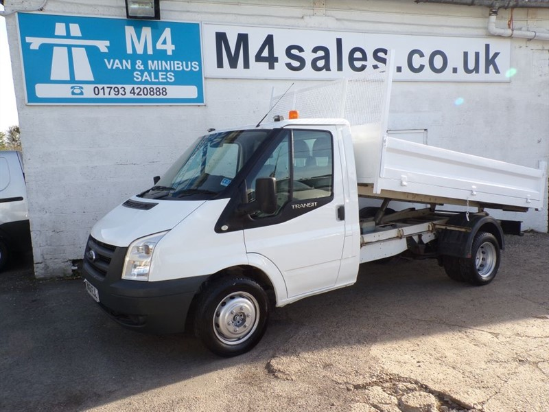 used Ford Transit TIPPER 330 LIMITED S/C MWB 115PS in wiltshire