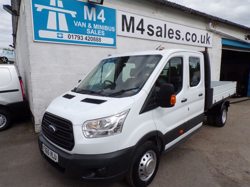 used Ford Transit 350 L3 D/C RWD 1 STOP TIPPER 125PS in wiltshire