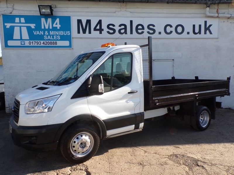 used Ford Transit 350 NEW SHAPE TIPPER S/C 350 in wiltshire