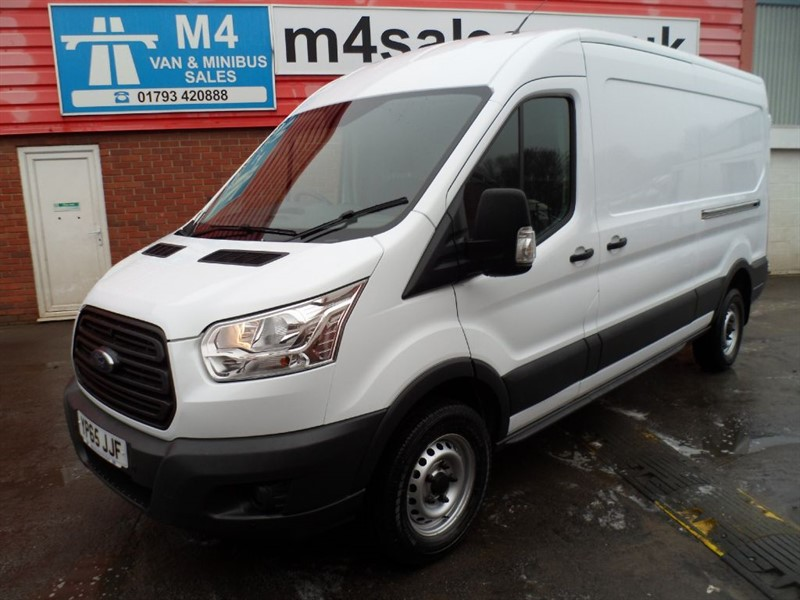 used Ford Transit LWB 350 MEDIUM ROOF 125PS in wiltshire