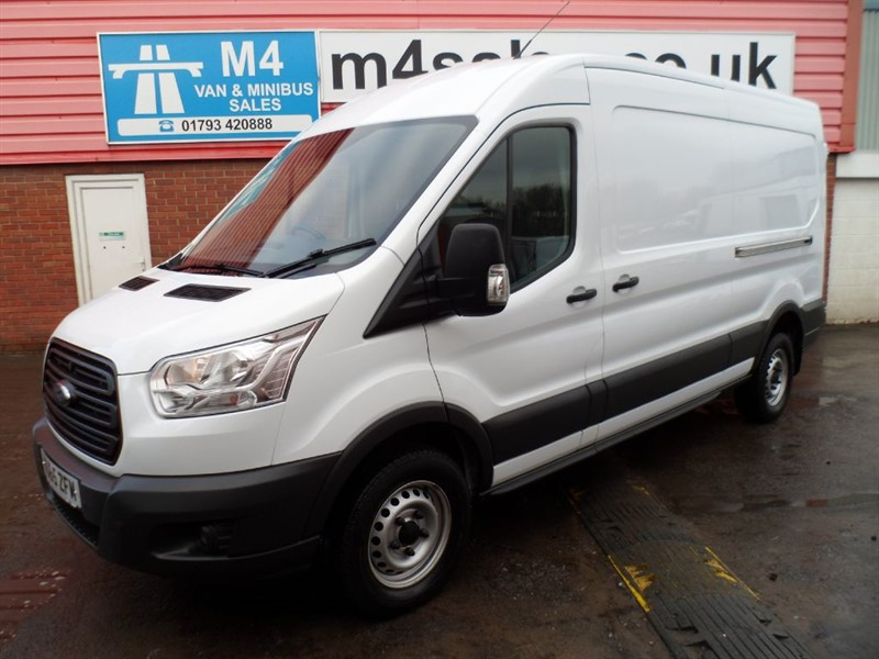 used Ford Transit 350 LWB L3 H2 RWD M/ROOF 125PS in wiltshire