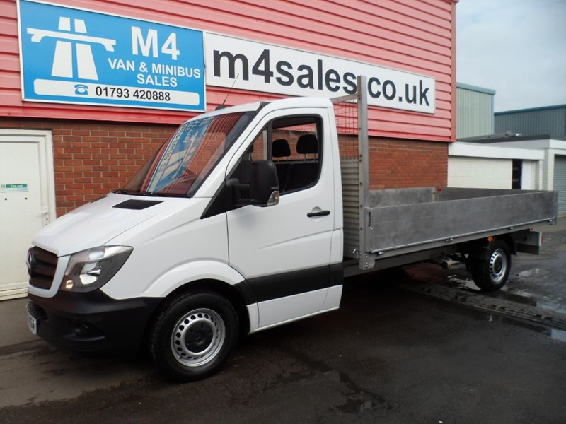 used Mercedes Sprinter 313 CDI LWB dropside 150ps in wiltshire