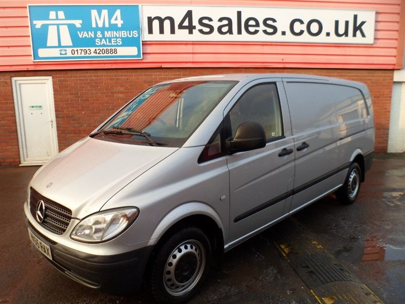 used Mercedes Vito 115 CDI EXTRA LONG A/C in wiltshire