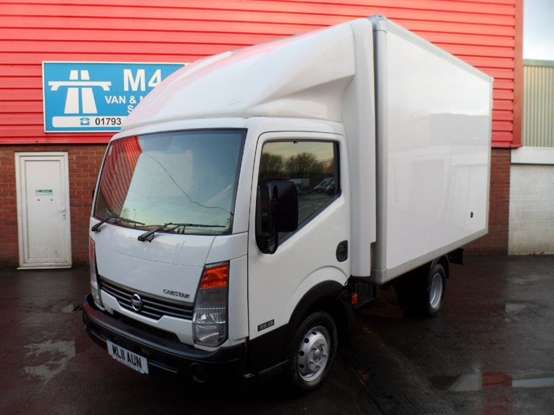 used Nissan Cabstar 35.13 SWB S/C LUTON 130PS in wiltshire
