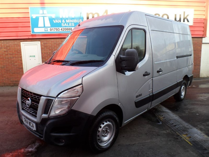 used Nissan NV400 DCI SE LONG AND HIGH P/V 150PS WITH A/C in wiltshire