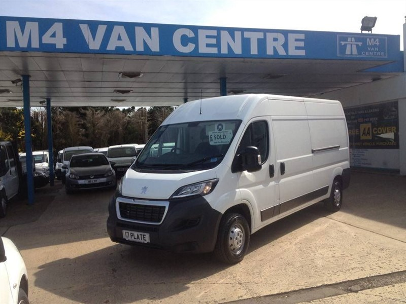 used Peugeot Boxer NEW 335 PROFESSIONAL LWB in wiltshire