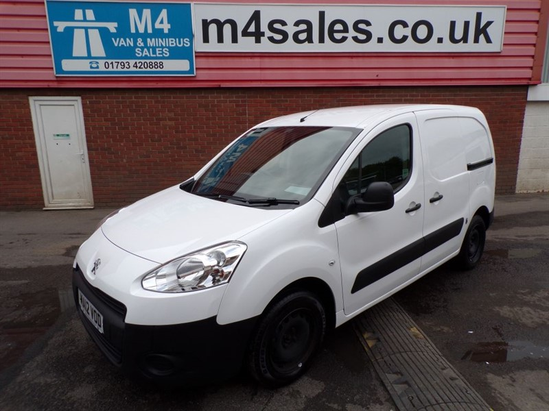 used Peugeot Partner HDI SE L1 625 *NO VAT* in wiltshire