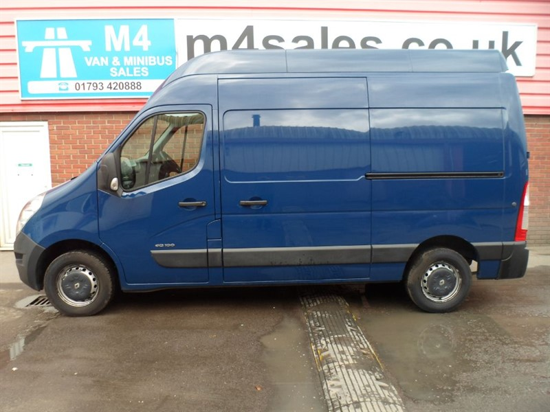 used Renault Master MH35 DCI H/R FWD 100PS in wiltshire
