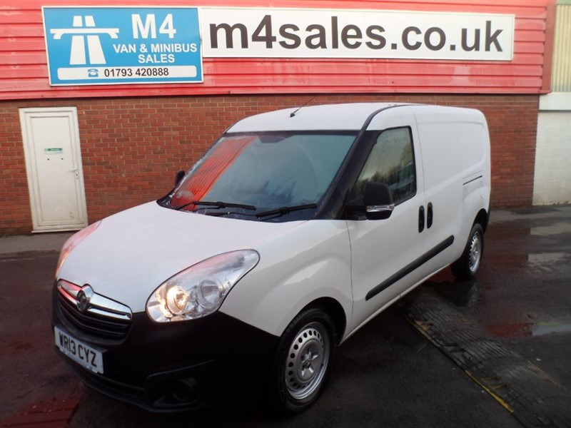 used Vauxhall Combo 2300 L2H1 CDTI LWB 105PS in wiltshire