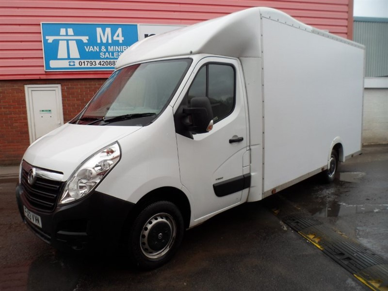 used Vauxhall Movano F3500 L3H1 LUTON  in wiltshire