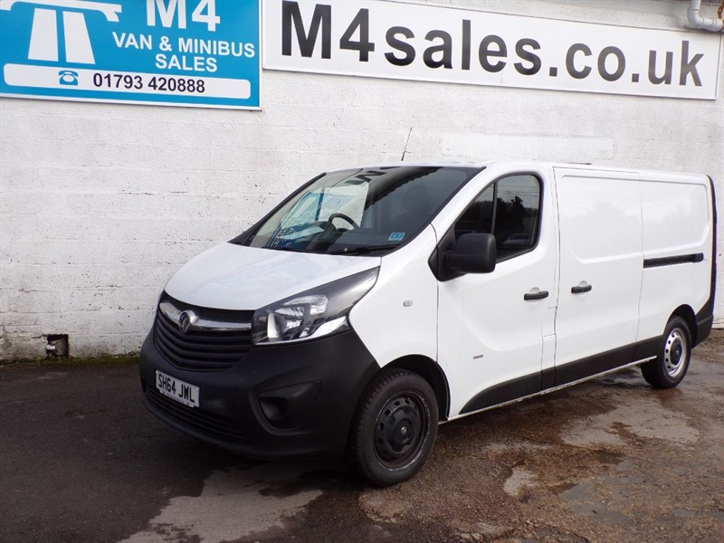 used Vauxhall Vivaro 2900 L2H1 CDTI, 115PS in wiltshire