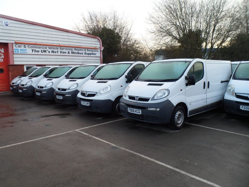 used Vauxhall Vivaro CHOICE OF 10 AVAILABLE in wiltshire