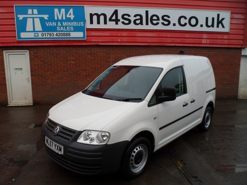 used VW Caddy C20 DSG TDI SWB 104PS  in wiltshire
