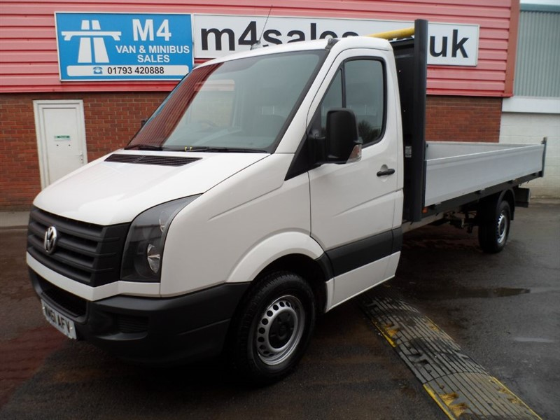 used VW Crafter CR35 TDI LWB S/C DROPSIDE 109PS in wiltshire