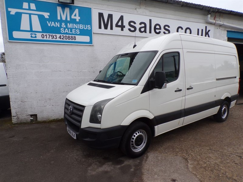 used VW Crafter 35 MWB H/R 136PS, NO VAT!!! in wiltshire