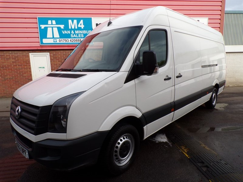 used VW Crafter CR35 TDI LWB H/R 109PS in wiltshire