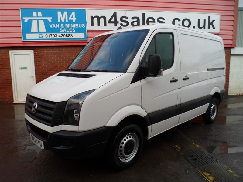 used VW Crafter CR30 TDI  SWB VAN 109PS in wiltshire