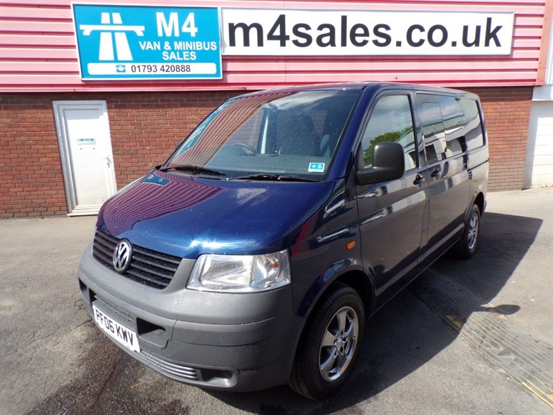 used VW Transporter T30 SWB TDI, 2.5 TDI 130PS, KOMBI, AUTO. in wiltshire