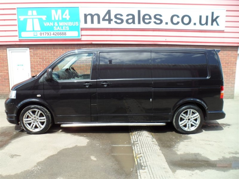 used VW Transporter T30 SPORTLINE TDI LWB WITH A/C in wiltshire