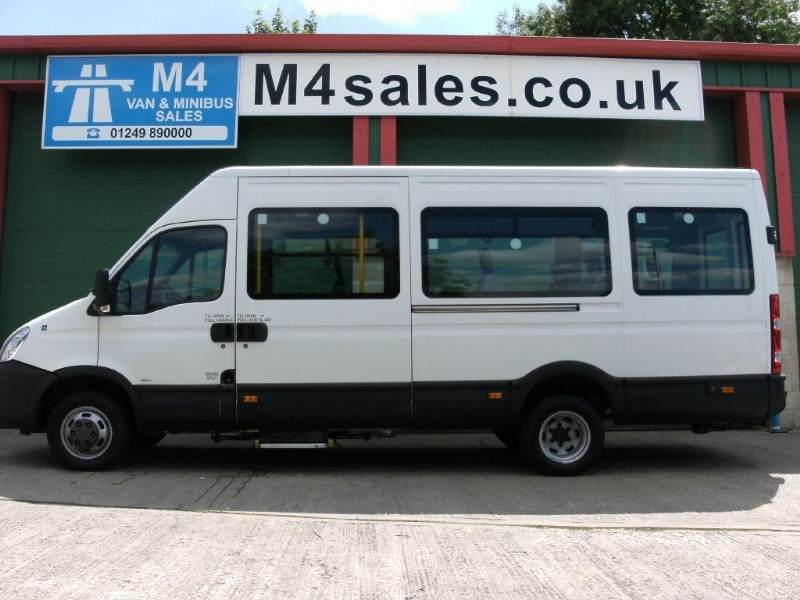used white 2007 iveco daily for 8 995 vat wiltshire. Black Bedroom Furniture Sets. Home Design Ideas