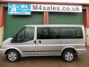 used Ford Tourneo 9st, 140ps,limited model in wiltshire