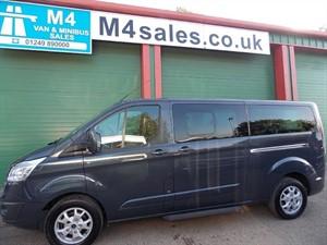 used Ford Tourneo 125ps,9st custom minibus,ltd model in wiltshire