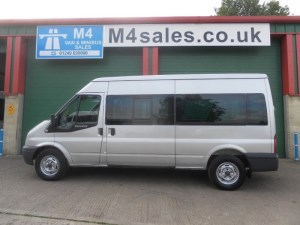 used Ford Transit 370 15 Seat 115ps  in wiltshire