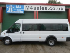 used Ford Transit 430 17 Seat 135ps Euro 5 Engine in wiltshire