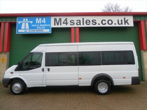 used Ford Transit 430 17 Seat 115ps Low miles NO VAT in wiltshire