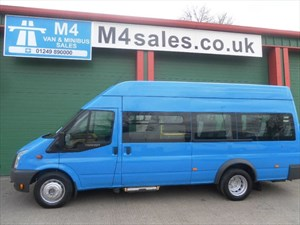 used Ford Transit 17seat,140ps,w/chair adapted in wiltshire