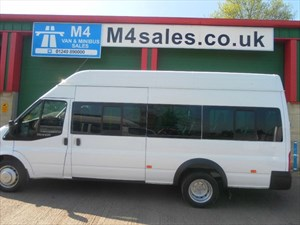 used Ford Transit 430 H/R 17 Seat 135ps euro 5 in wiltshire