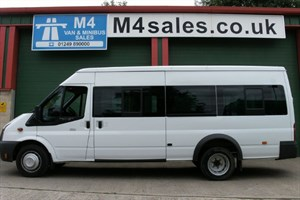 used Ford Transit 430 17 Seat 135ps Euro 5 in wiltshire