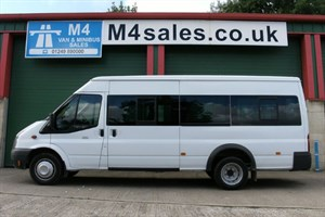 used Ford Transit 135ps,17st minibus, tacho in wiltshire
