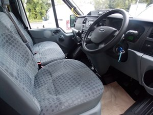 used Ford Transit 135ps, 17seat, Euro 5, tacho, S/high roof in wiltshire