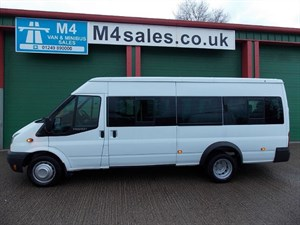 used Ford Transit 17seat,135ps, Euro 5, tacho, S/high roof in wiltshire
