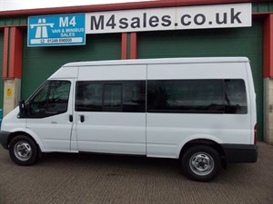 used Ford Transit 14 Seat 135ps euro 5 3.5T Non D1 in wiltshire