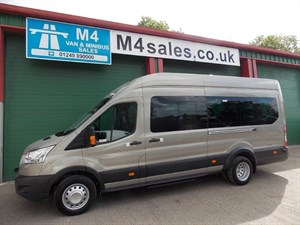 used Ford Transit 460 Trend 17 Seat New Shape Minibus Airconditioning in wiltshire