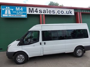 used Ford Transit 135ps,14st minibus,3.5t.**Front & rear A/con** in wiltshire