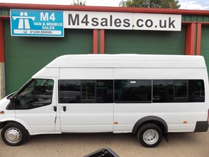 used Ford Transit 430 17 Seat High Roof Minibus 135ps Euro 5 Tacho in wiltshire