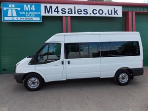 used Ford Transit 350 135ps 14 Seat Euro 5 Minibus Tacho in wiltshire