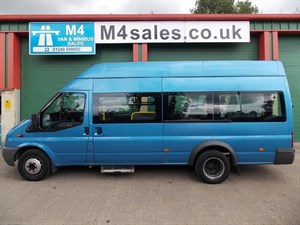 used Ford Transit 460 115ps 15 Seat Wheel Chair Accessable Minibus in wiltshire