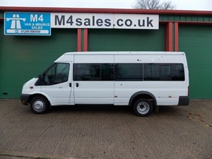 used Ford Transit 135PS Euro 5 17 seat Minibus in wiltshire