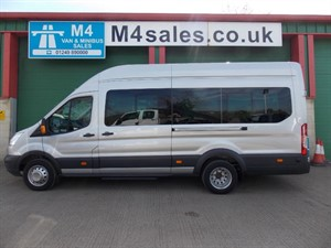 used Ford Transit 125ps,17st trend minibus. **Only 2500miles** in wiltshire