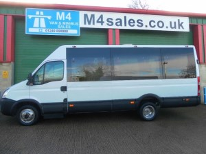 used Iveco Daily 50C15V Mini coach with Boot in wiltshire