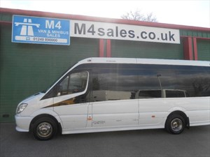 used Mercedes Sprinter 515 Minicoach Aircon in wiltshire