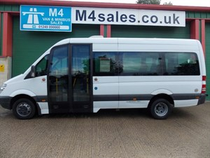used Mercedes Sprinter 515 CDI 15 Seat Wheel Chair access NO VAT COIF & PSV AC in wiltshire